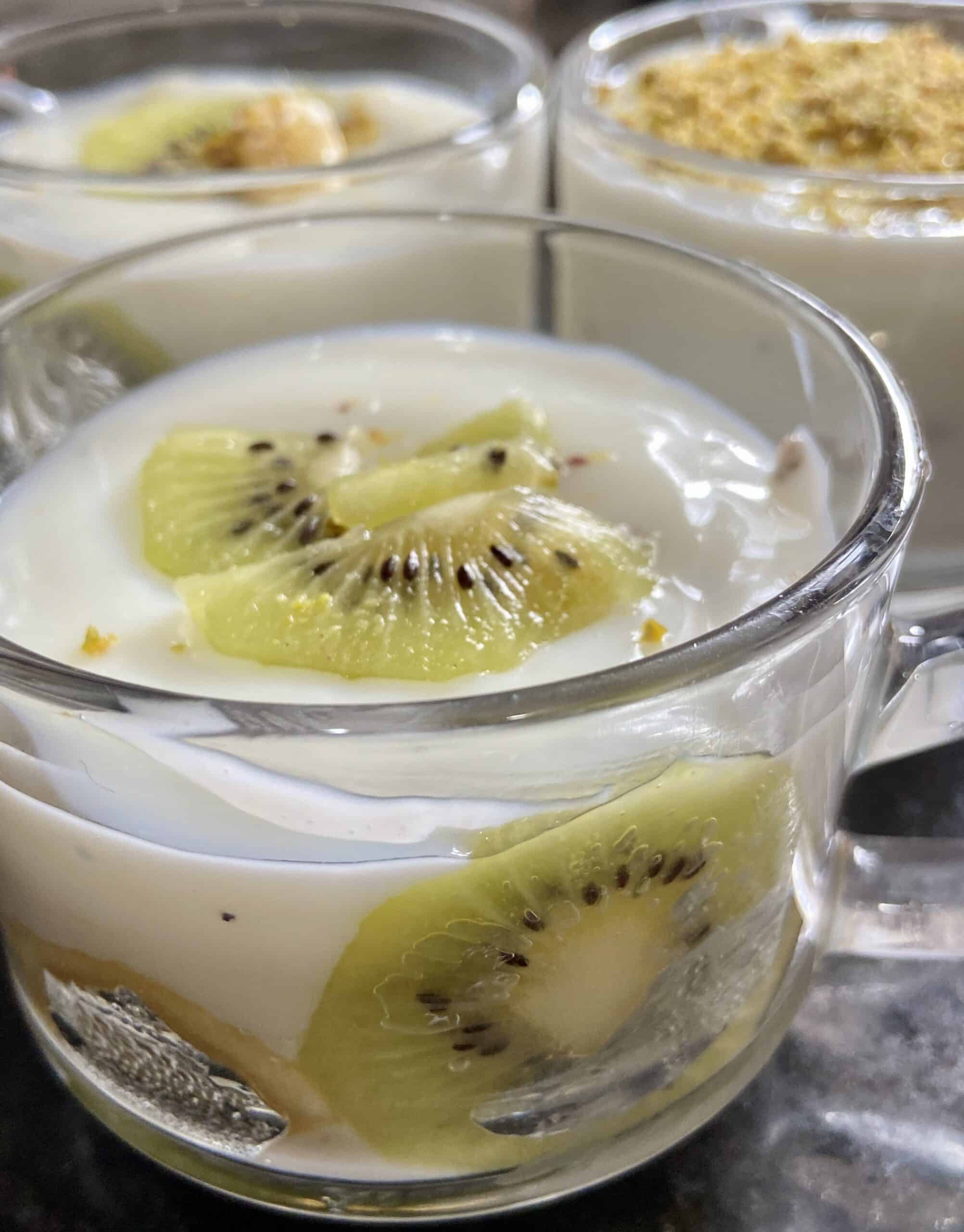 fruity milk pudding