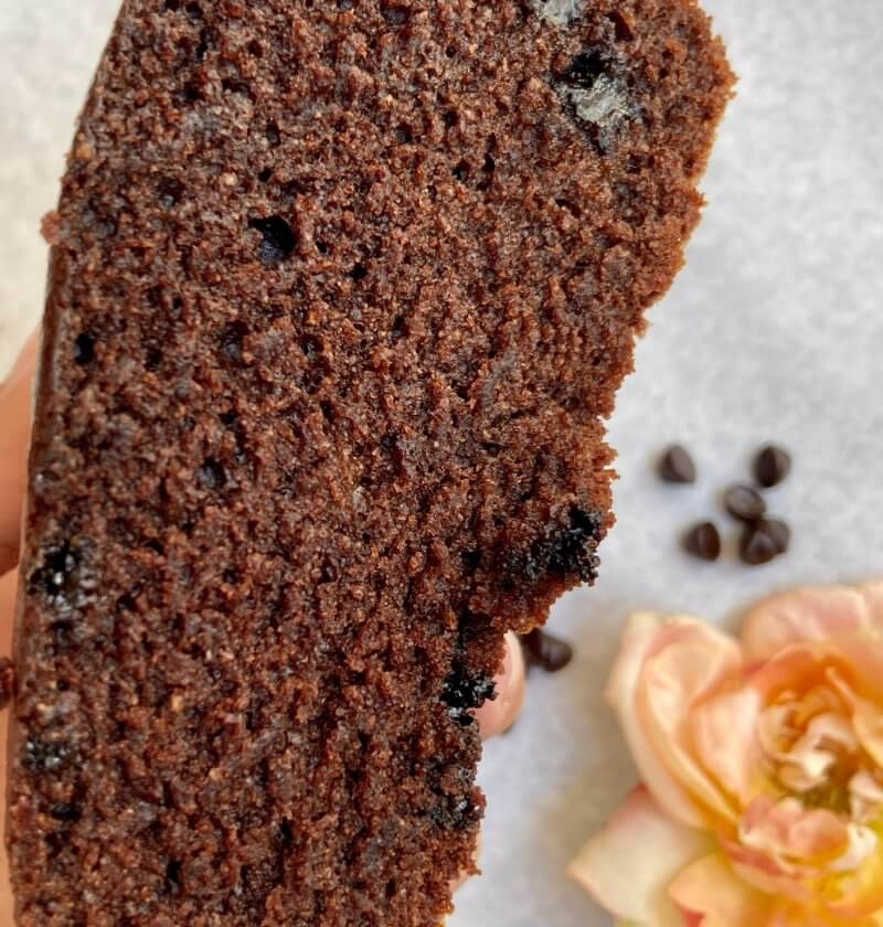 Chocolate cake (eggless)