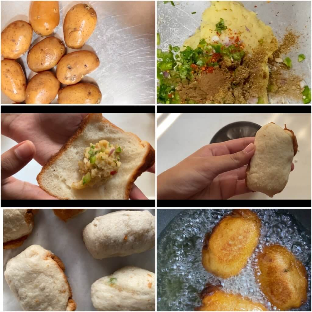 How to make bread roll (Indian bread roll recipe)