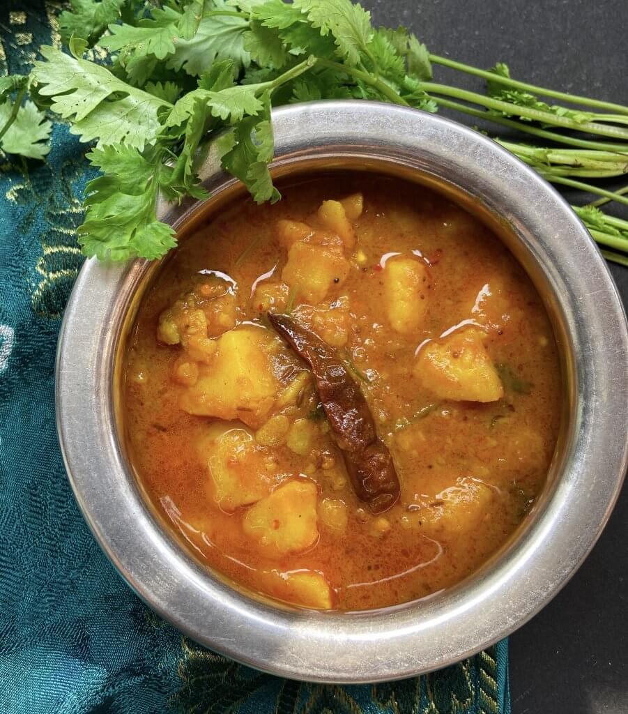 Potato curry without onion and garlic|aloo curry 3