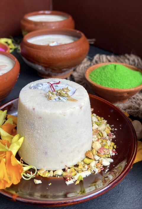 Thandai kulfi recipe|how to make matka kulfi