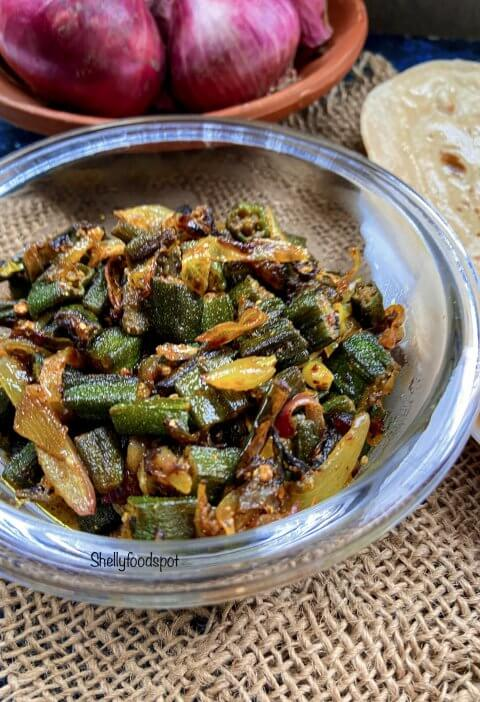 How to make bhindi do pyaza|Bhindi fry with onion 2