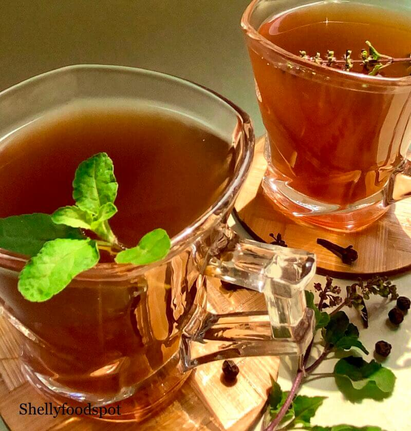Kadha recipe for cold and cough