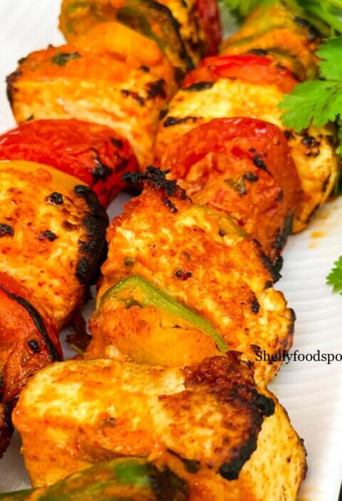 Paneer tikka without onion and garlic